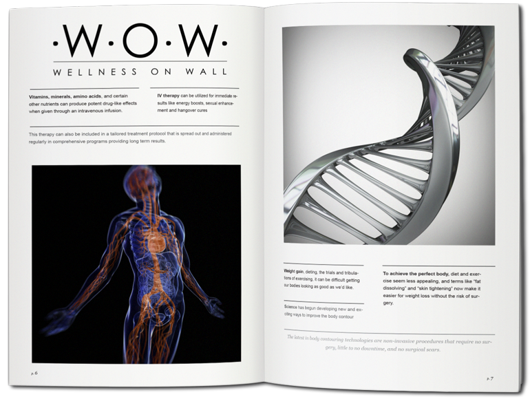 Wellness On Wall Publication